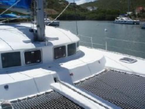 Preowned Sail Catamarans for Sale 2005 Lagoon 410 Deck & Equipment